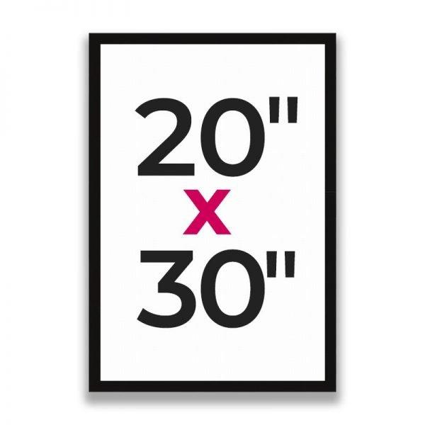 "20"" x 30"""