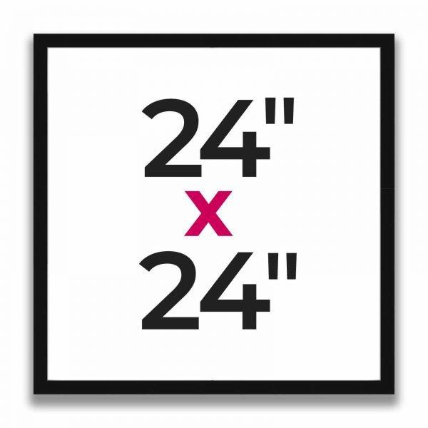 "24"" x 24"""