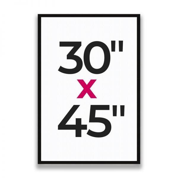 "30"" x 45"""