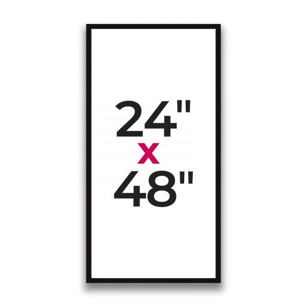 "24"" x 48"""