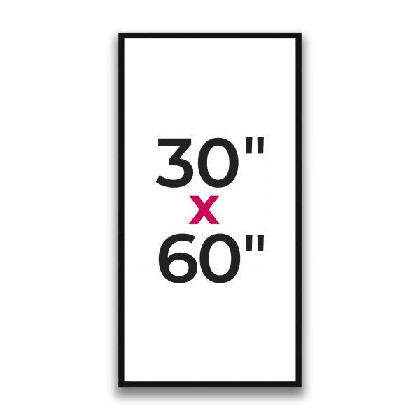 "30"" x 60"""
