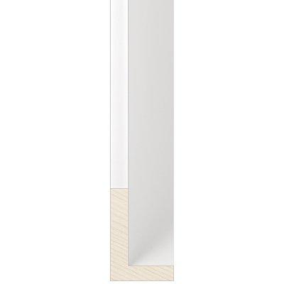 White Float Frame