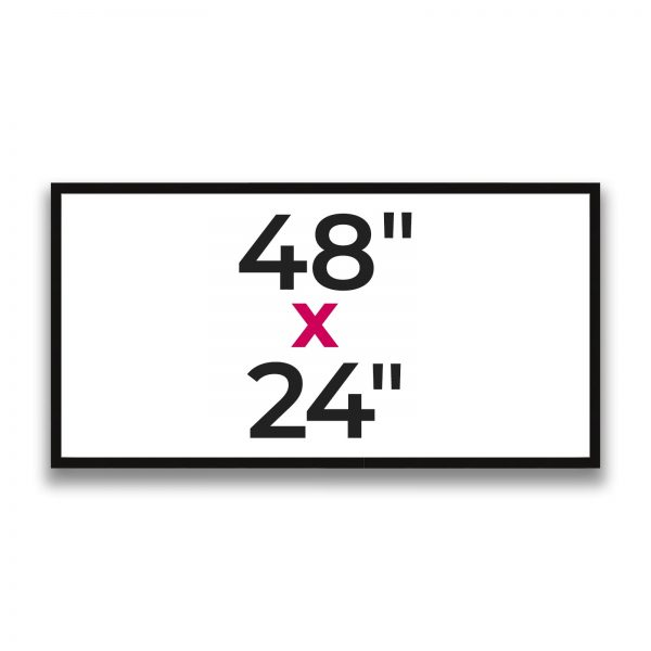 "48"" x 24"""