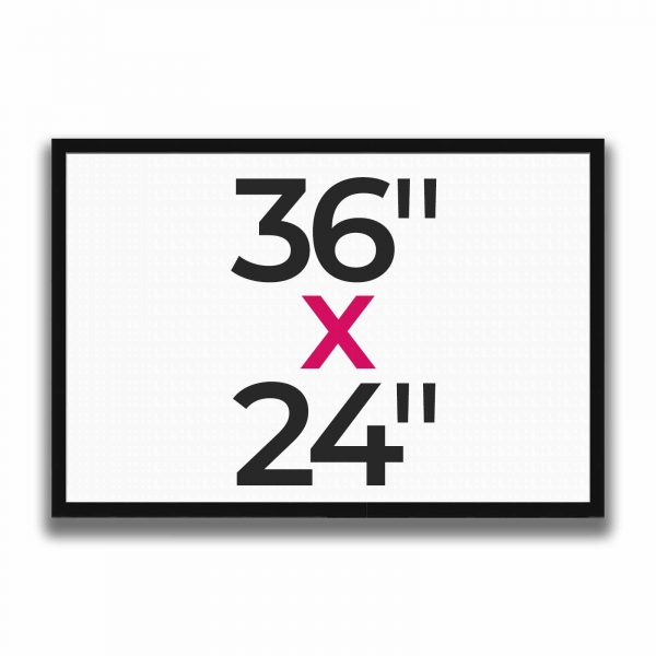 "36"" x 24"""